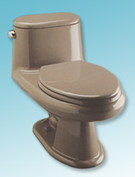 Contempo one-piece toilet