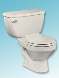 Hercules two-piece toilet