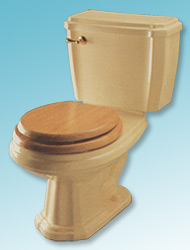 Nostalgia two-piece toilet