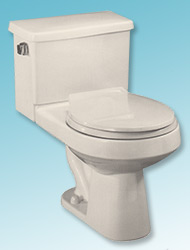 Saturn two-piece toilet