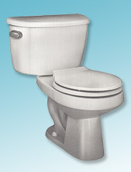Taurus two-piece toilet