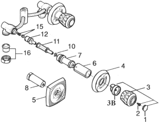 Valley Shower Valve Parts
