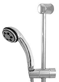 Leticia slide bar hand shower kit