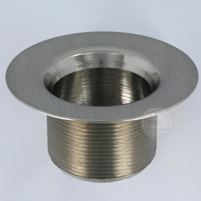 brushed nickel strainer body