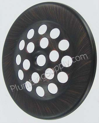 dome style strainer cover plate 1006BZ image