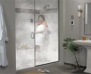 Total Sense deluxe steam shower package