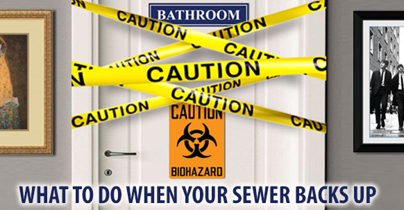 How To Clean Up Sewer Back Ups