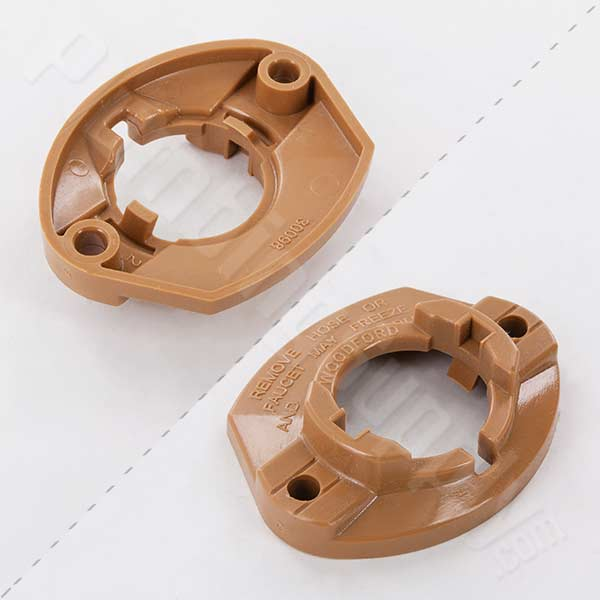 Woodford adjustable flange