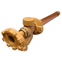 Example of a Woodford Model 19 freezeless wall faucet