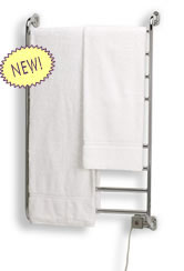 hard wired and soft wired towel warmer