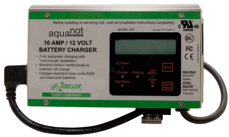 Zoeller Aquanot, Basement Sentry, & Pro Pak Series Backup Pump Systems