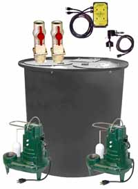 Zoeller dual pump package system