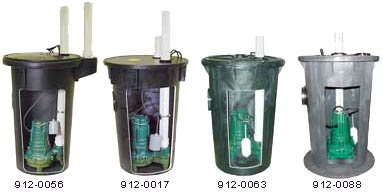 Zoeller Sewage Sump Pump Packages