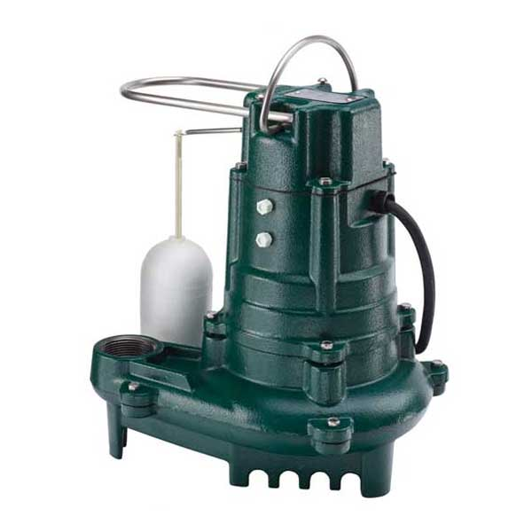 Zoeller Flow Mate 130 Series submersible sump/effluent pump with float switch