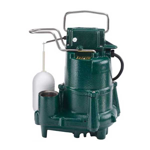 Zoeller Flow Mate Model 98 submersible sump/effluent pump with float switch