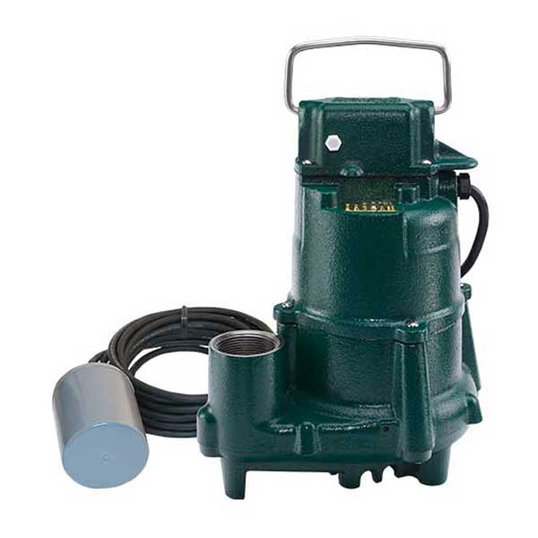 Zoeller Flow Mate Model 98 submersible sump/effluent pump with variable level float switch